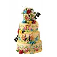 Торт с павлинами